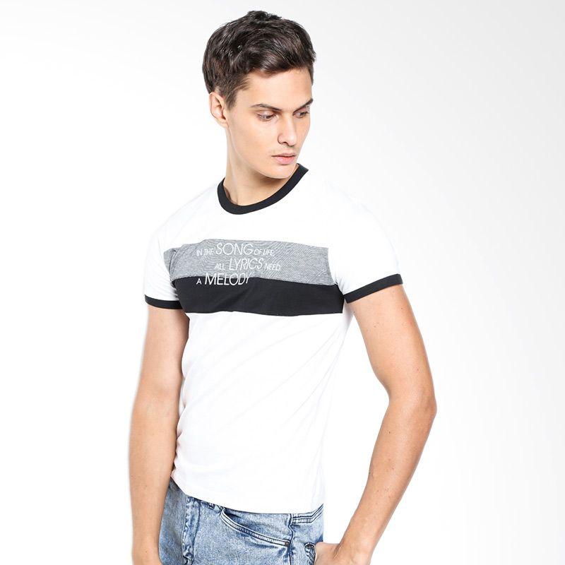 Gallop Mix A21224CB White T-Shirt