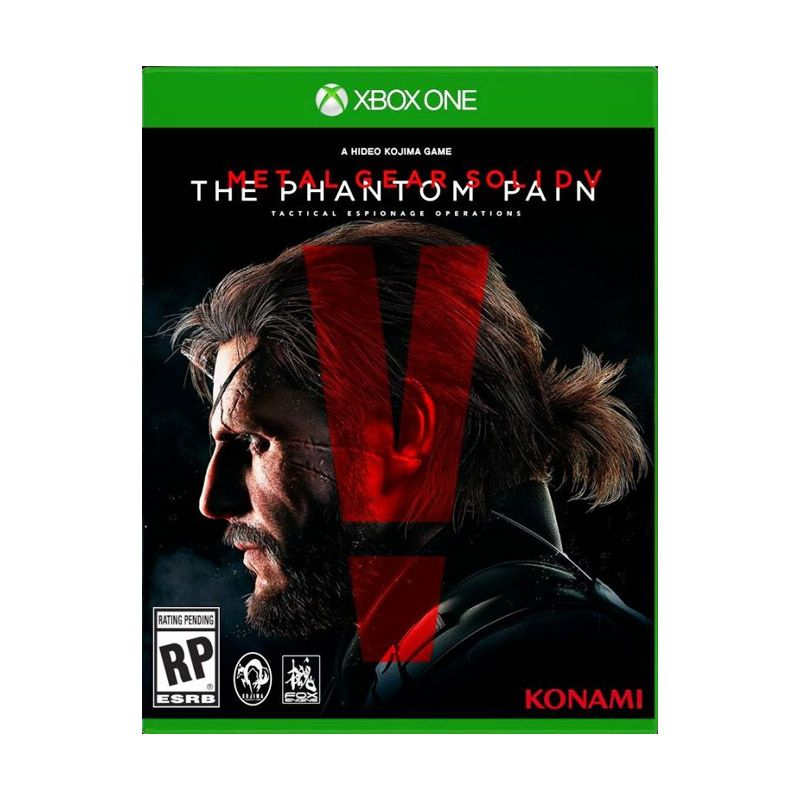 Metal Gear Solid V The Phantom Pain Game Xbox One