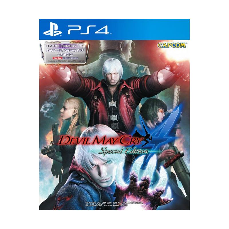 Sony PlayStation 4 Devil May Cry DVD Game