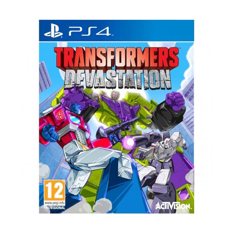 Sony PlayStation 4 Transformers Devastation DVD Game