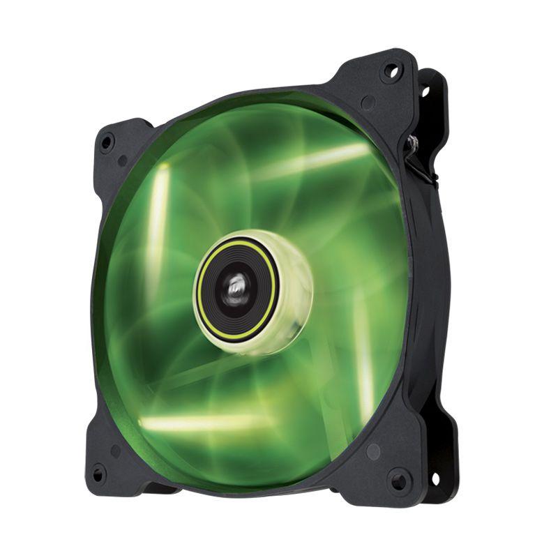 Corsair Air Series High Static Pressure SP140 LED Green CPU Cooler [140 mm]