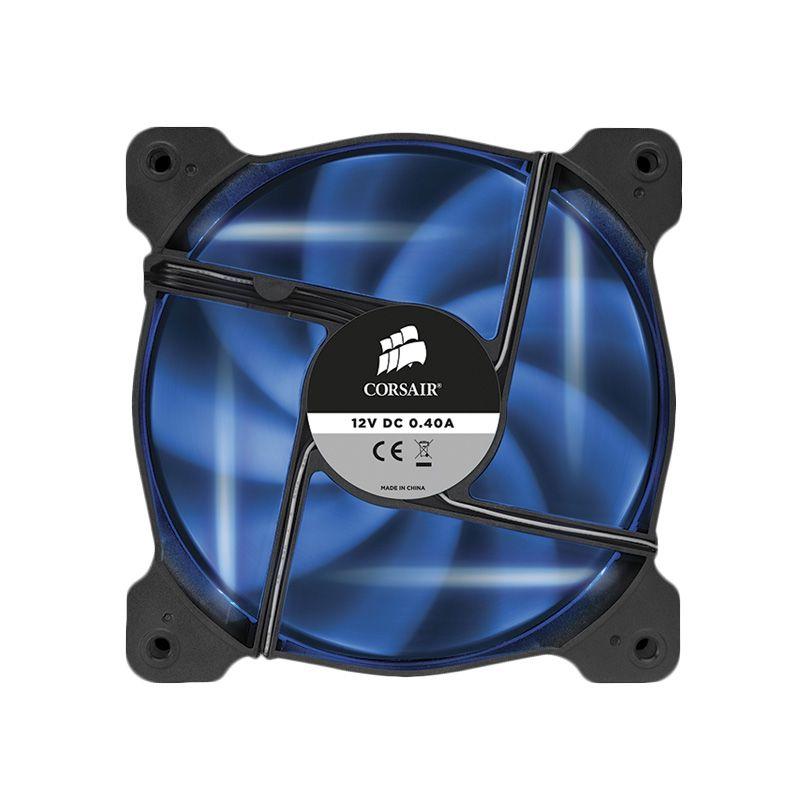 Corsair Air Series Quiet Edition High Airflow AF120 LED Blue CPU Cooler [120 mm]