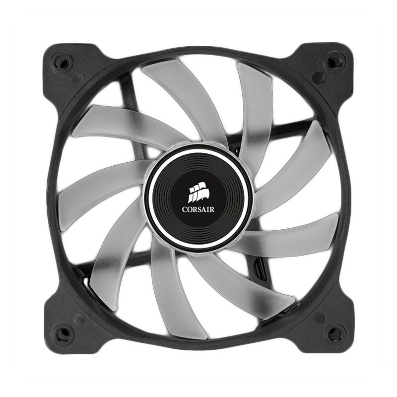 Corsair Air Series Quiet Edition High Airflow AF120 LED Red CPU Cooler [120 mm]