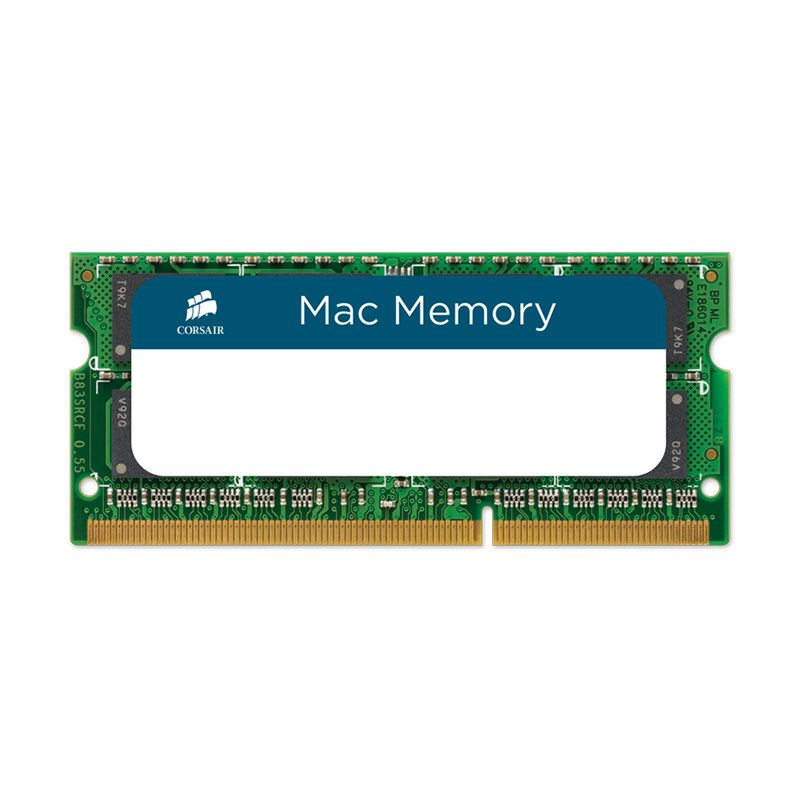 Corsair Mac DDR3 SODIMM CMSA8GX3M1A1333C9 Hijau RAM PC [8 GB]