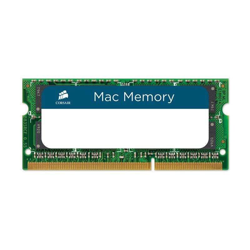 Corsair Mac DDR3 SODIMM CMSA8GX3M2A1333C9 Hijau RAM PC [8 GB]