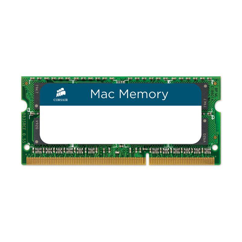 Corsair Mac DDR3L SODIMM CMSA8GX3M1A1600C11 Hijau RAM PC [8 GB/Dual Channel]