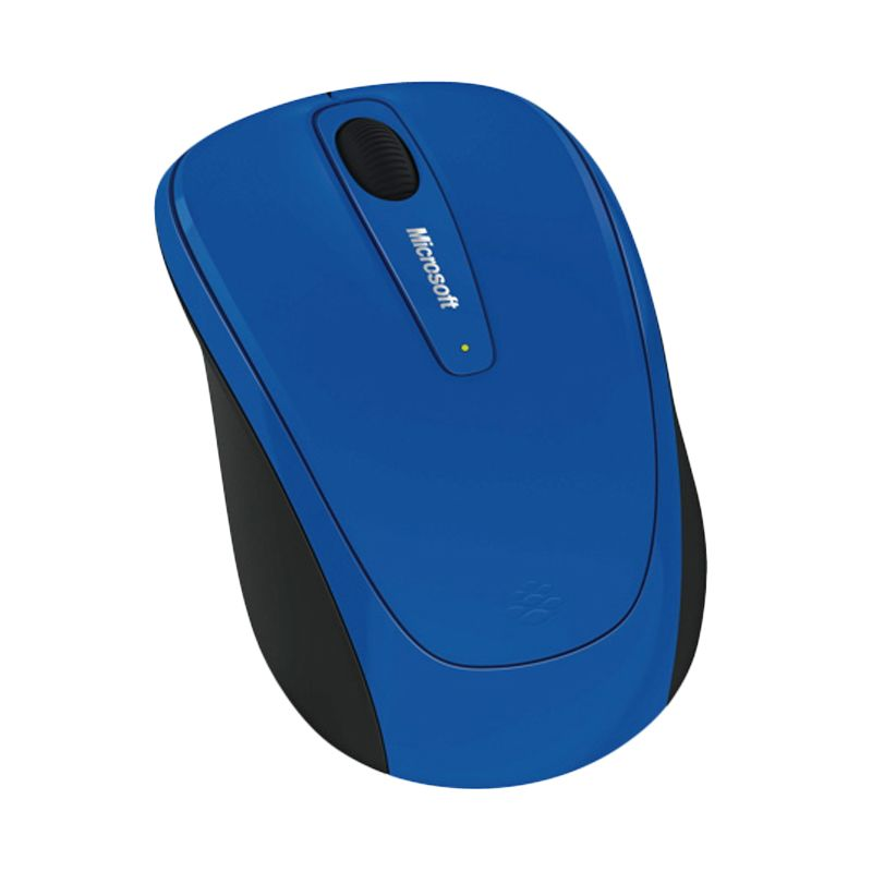 Microsoft Mobile 3500 Blue Wireless Mouse