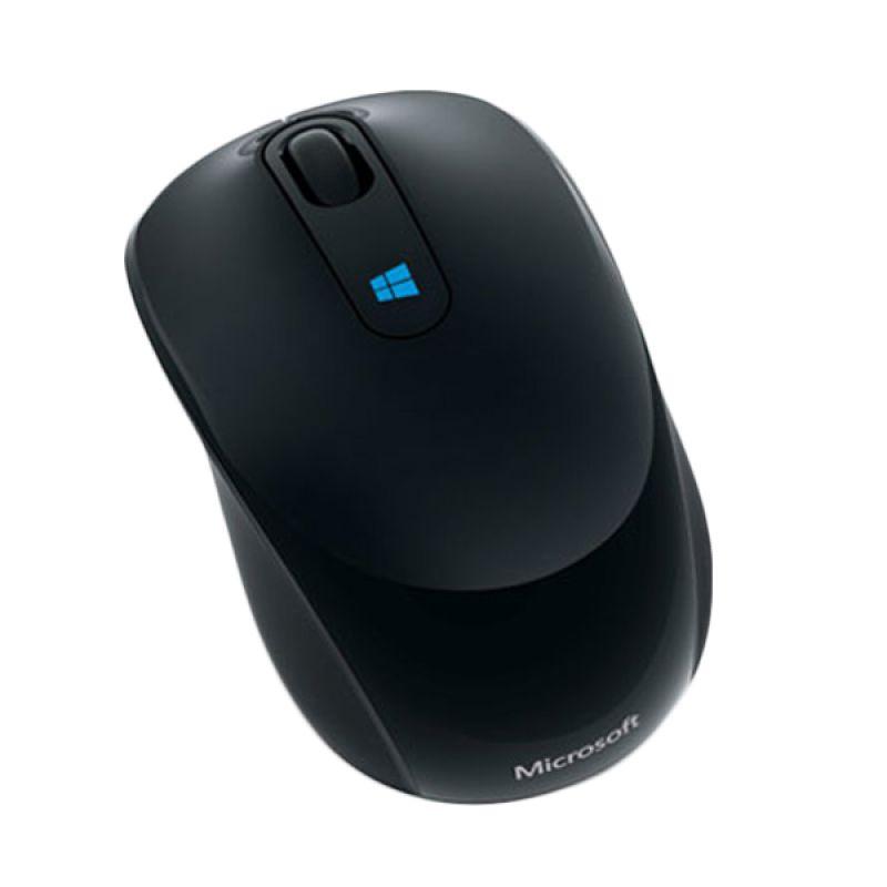 harga Microsoft Sculpt Mobile Black Wireless Mouse Blibli.com