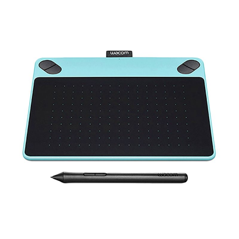 Wacom Intuos Art Drawing Medium CTH-690/BO-CX Mint Blue Pen & Touch