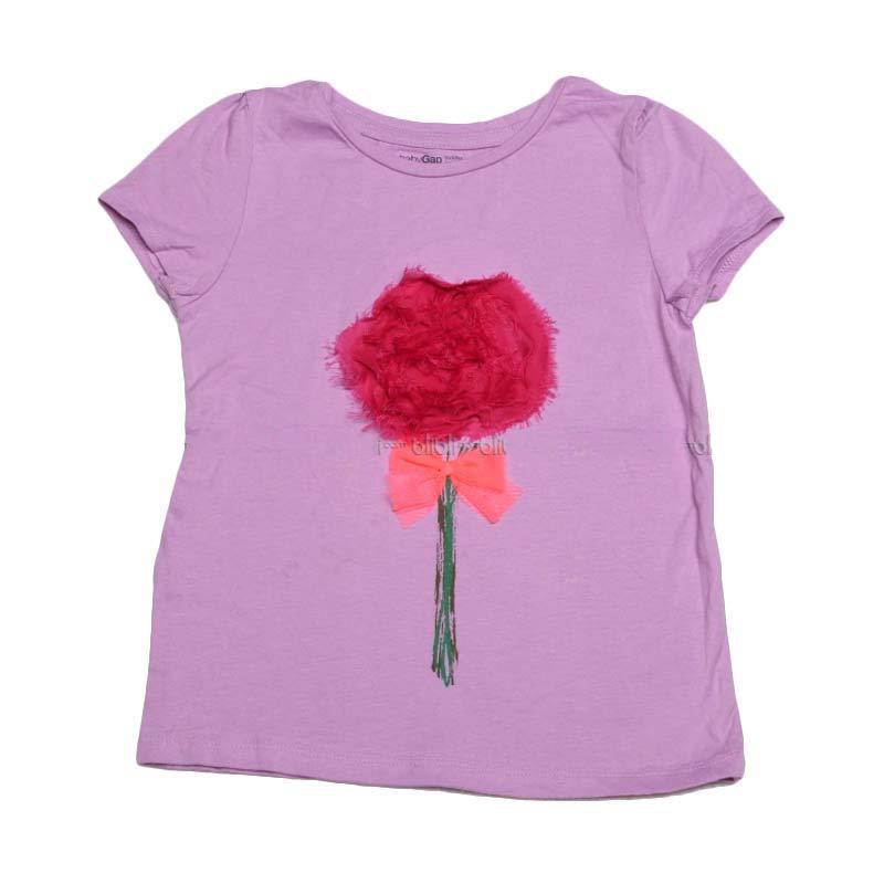 harga GAP Flower Purple Tee Baju Atasan Anak Perempuan Blibli.com