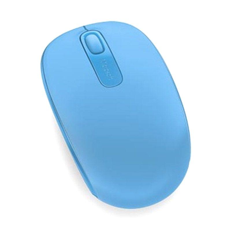Microsoft 1850 Cyan Blue Wireless Mobile Mouse
