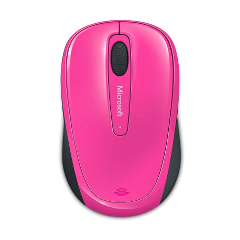 Microsoft 3500 Magenta Pink Wireless Mobile Mouse