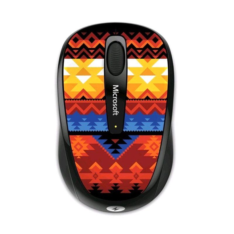 Microsoft 3500 Multi Color Artist Koivo Wireless Mobile Mouse