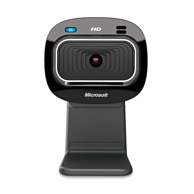 Microsoft LifeCam HD-3000 Windows Black Webcam