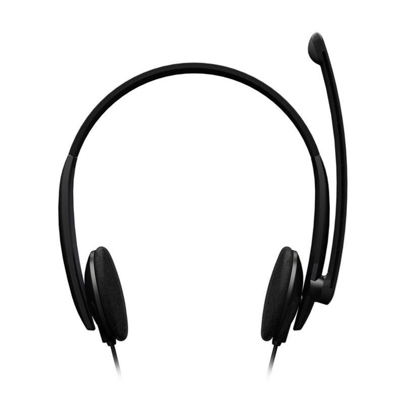Microsoft LifeChat LX-1000 Windows Only Black Headset