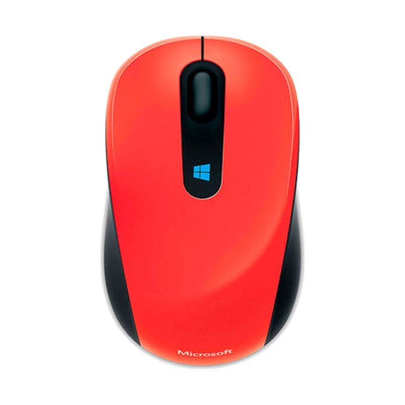 Microsoft Sculpt Mobile Flame Red Wireless Mouse