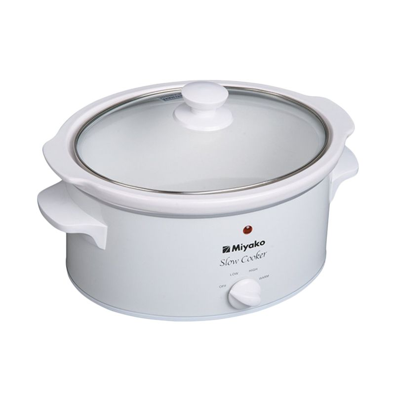 Miyako SC-510 Slow Cooker Portable Rice Cooker [5 L]