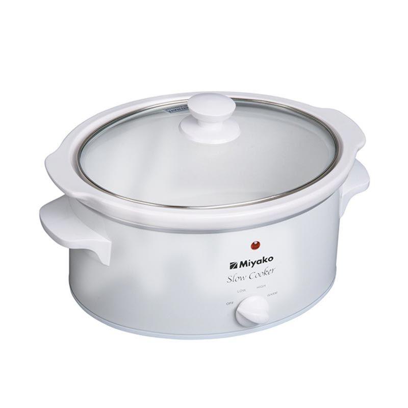 Miyako Slow Cooker SC-400 Putih Portable Cooker [4.5 L]
