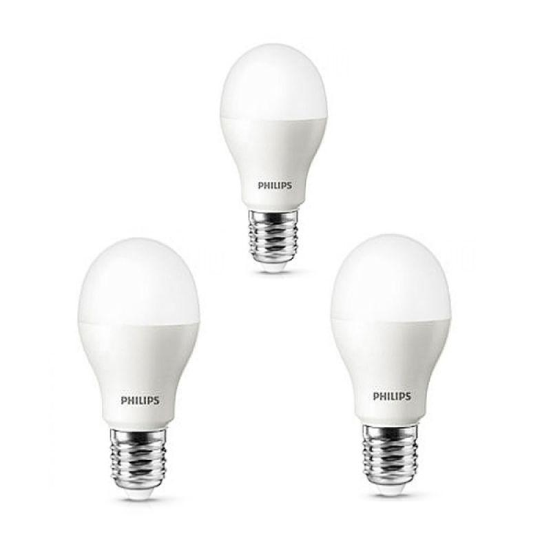 Philips Putih Lampu LED [9 Watt/3 Pcs]