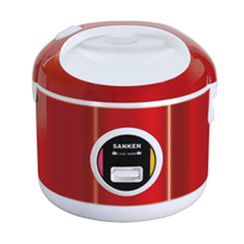 Sanken SJ-3000 Merah Rice Cooker [1.8 L]