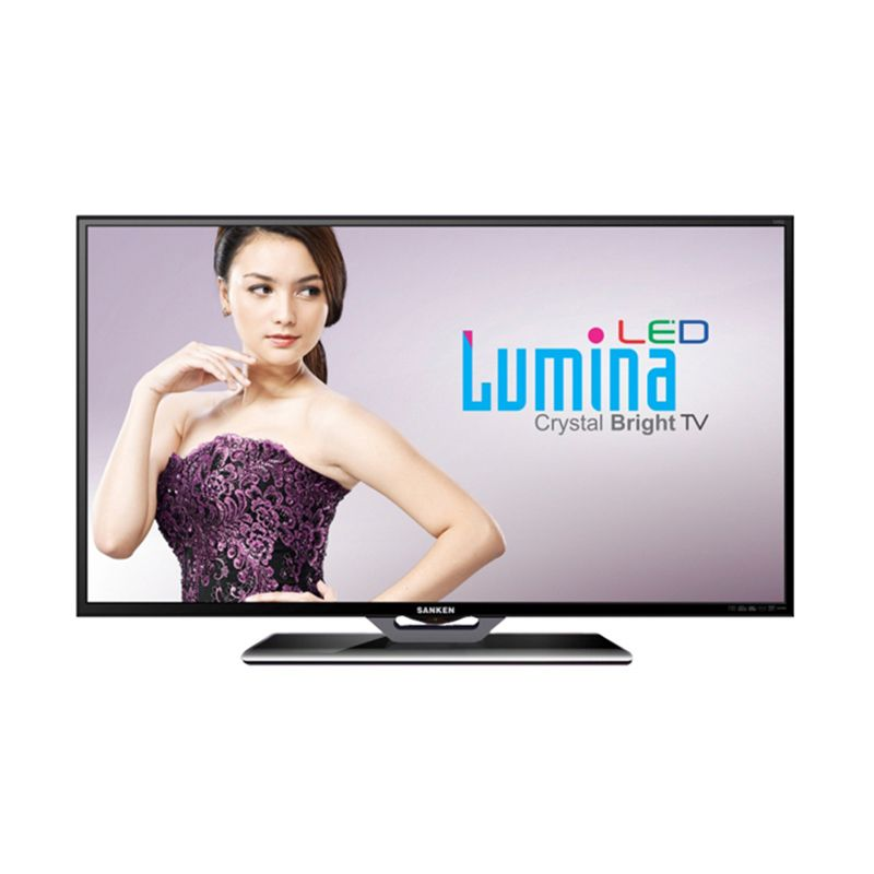 Sanken SLE-50 Hitam TV LED [50 Inch]