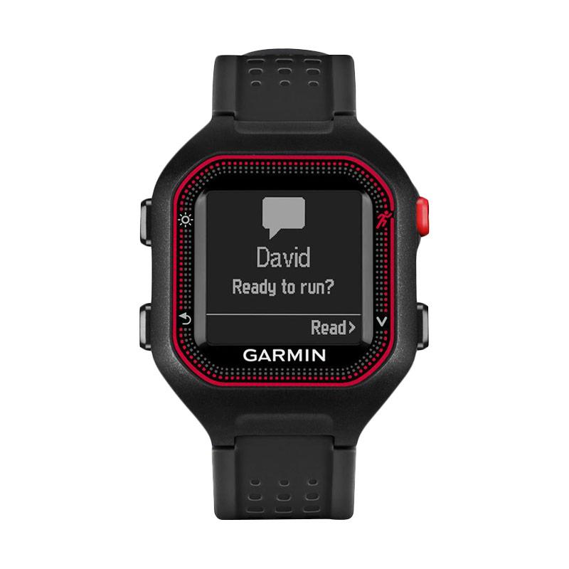 harga Garmin Forerunner 25 Activity Tracker - Black Red Blibli.com
