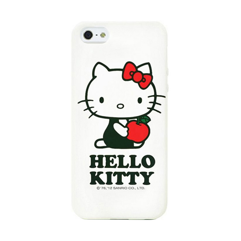 harga Garmma Hello Kitty Soft Cover Apple A White Casing for iPhone 5S Blibli.com
