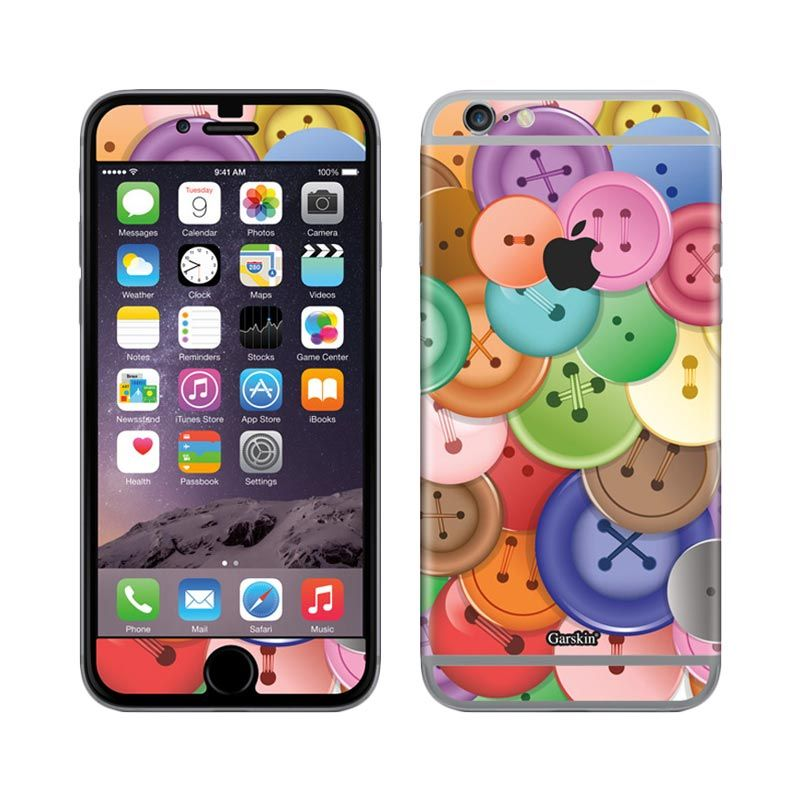 Garskin Buttons Skin Protector for iPhone 6