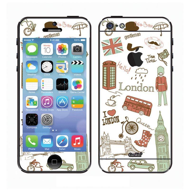 Garskin I Love London Skin Protector for iPhone 5