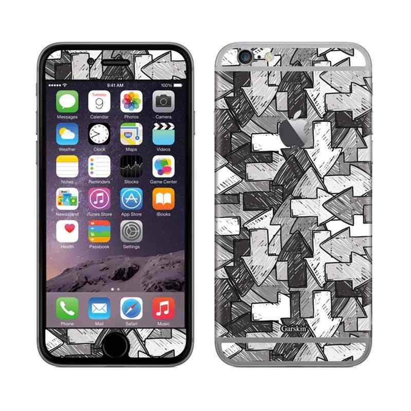 Garskin iPhone 6 - Direction BW