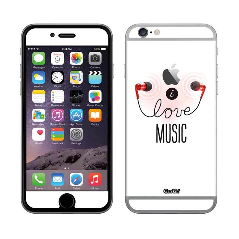 Garskin iPhone 6 - Music For Every One (Red)