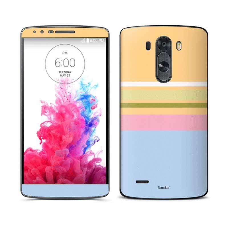 Garskin Sticker Skin LG G3 - Line Yellow