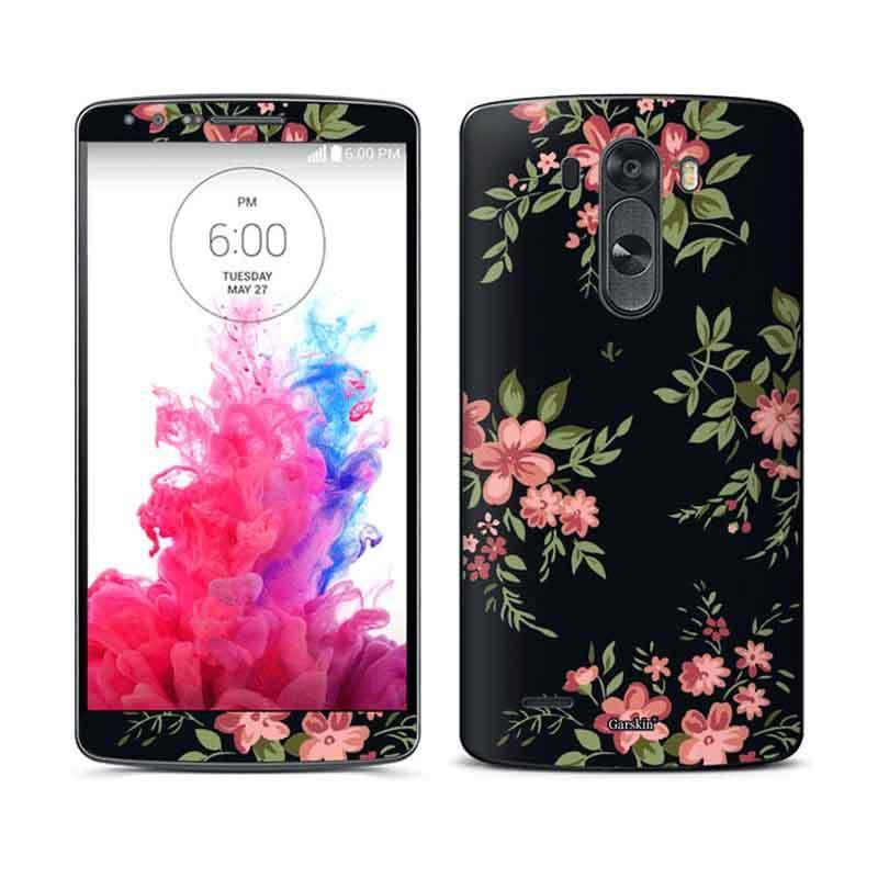 Garskin LG G3 Skin Protector - Oldies Fabric Black