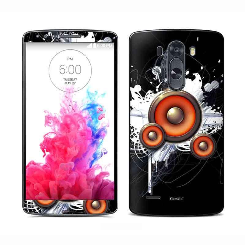 Garskin Sticker Skin LG G3 - Audial Black