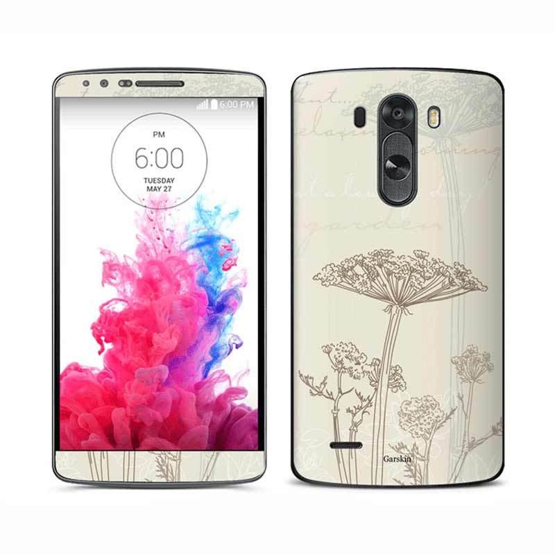 Garskin LG G3 Skin Protector - Lovely Garden