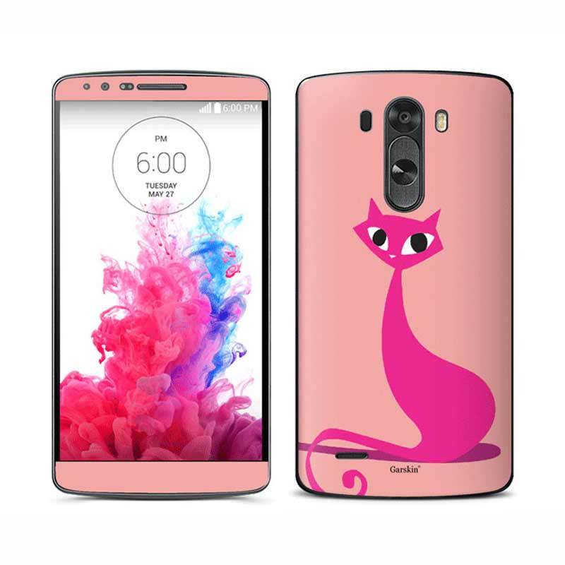 Garskin LG G3 Skin Protector - Meow Peach