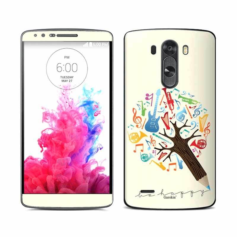 Garskin Sticker Skin LG G3 - Music Tree