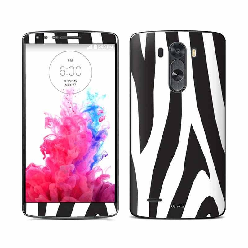 Garskin LG G3 Skin Protector - Zebra