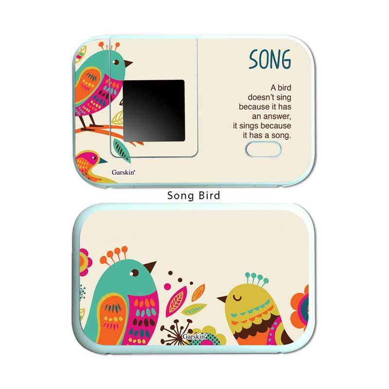 Garskin Modem Huawei - Song Bird E5372