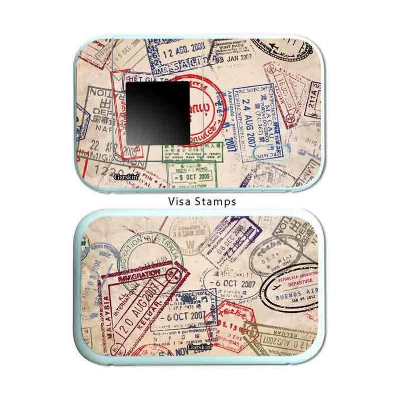 Garskin Modem Huawei - Visa Stamp E5372