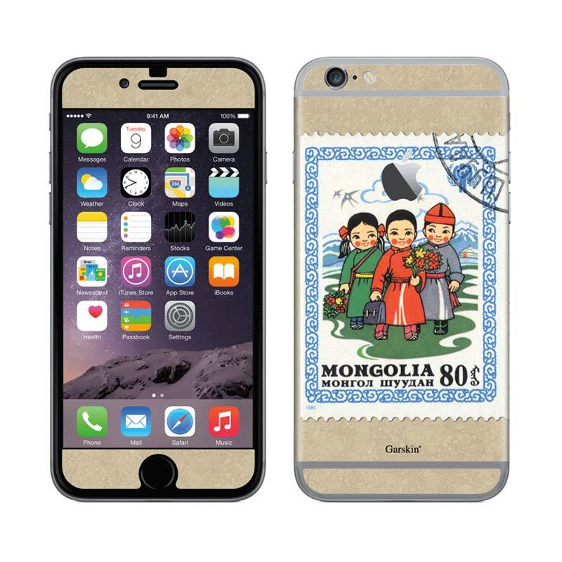 Garskin Mongolia Postage Skin Protector for iPhone 6