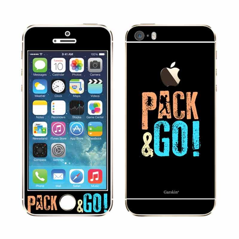 harga Garskin Pack & Go Skin Protector for iPhone 5s Blibli.com
