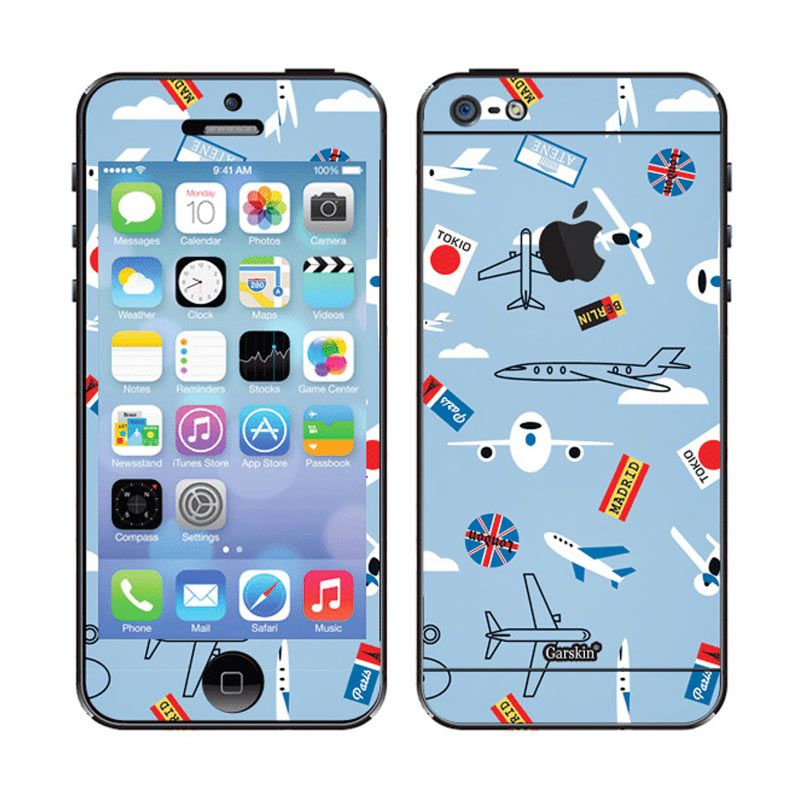 Garskin Planes Skin Protector for iPhone 5