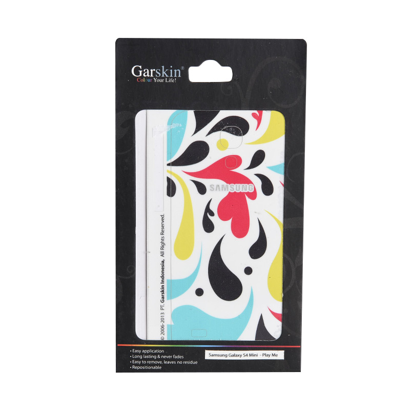 Garskin Play Me Skin Protector for Samsung Galaxy S4 mini