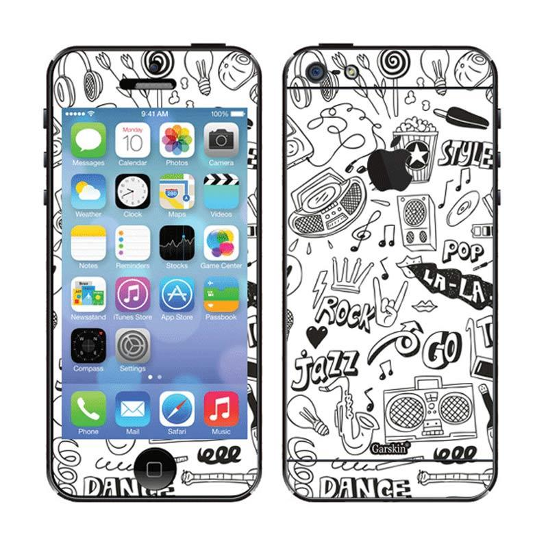 Garskin Playlist Skin Protector for iPhone 5
