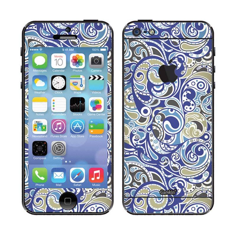 Garskin Royal Blue Skin Protector for iPhone 5
