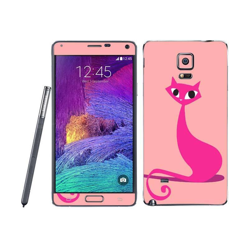 Garskin Samsung Note 4 Meow! Peach Skin Protector
