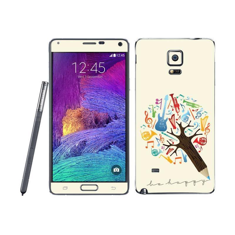 Garskin Samsung Note 4 Music Tree Skin Protector