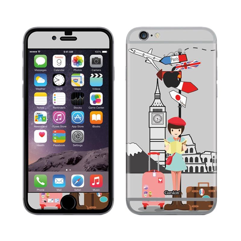 Garskin Travel Trip Skin Protector for iPhone 6