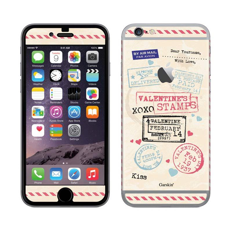 Garskin Valentine Stamps Skin Protector for iPhone 6